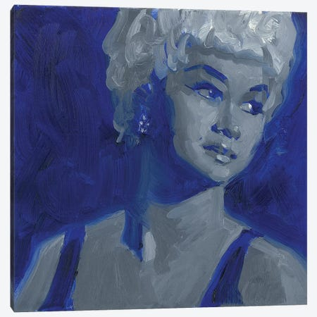 Etta James Canvas Print #TOP6} by Tony Pro Canvas Art