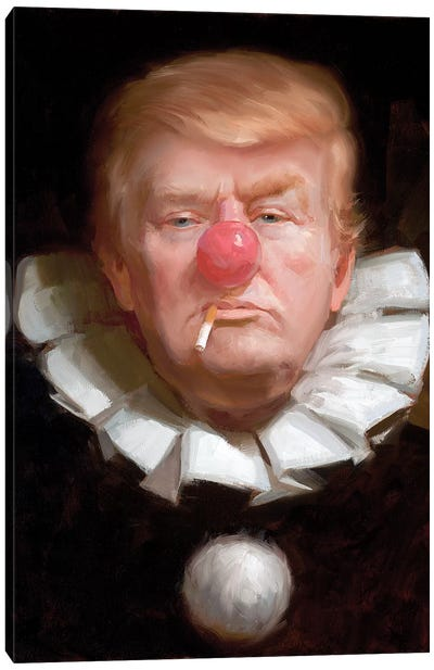 Donald Trump Canvas Art Print