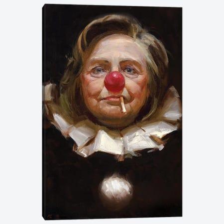 Hillary Clinton Canvas Print #TOP9} by Tony Pro Canvas Art Print