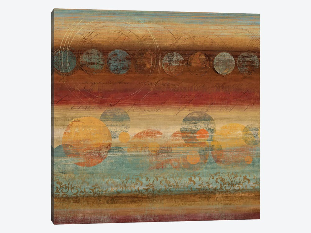 Pattern Play III by Tom Reeves 1-piece Canvas Art