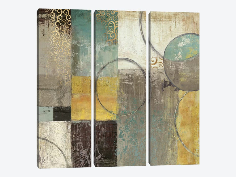Peace Of Mind II by Tom Reeves 3-piece Canvas Artwork