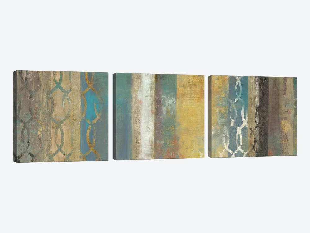 Progression I by Tom Reeves 3-piece Canvas Art Print