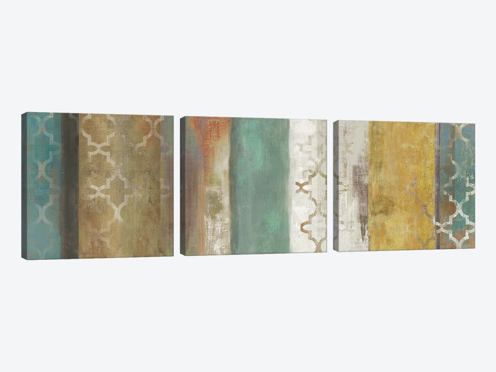 Progression II by Tom Reeves 3-piece Canvas Wall Art