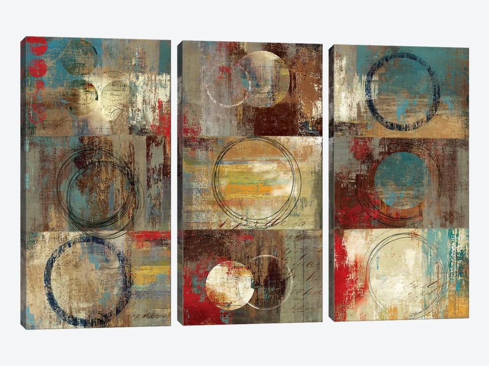 All Around Play by Tom Reeves 3-piece Canvas Art