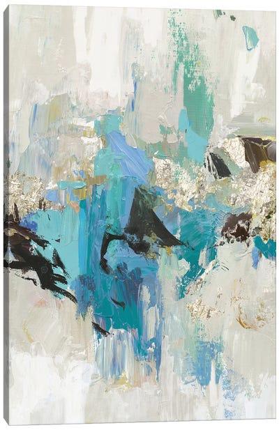 Blue Silver I Canvas Art Print
