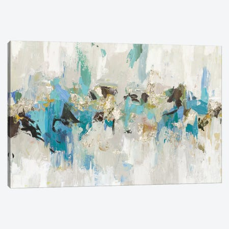 Blue Silver III Canvas Print #TOR129} by Tom Reeves Canvas Artwork