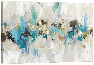 Blue Silver III Canvas Art Print