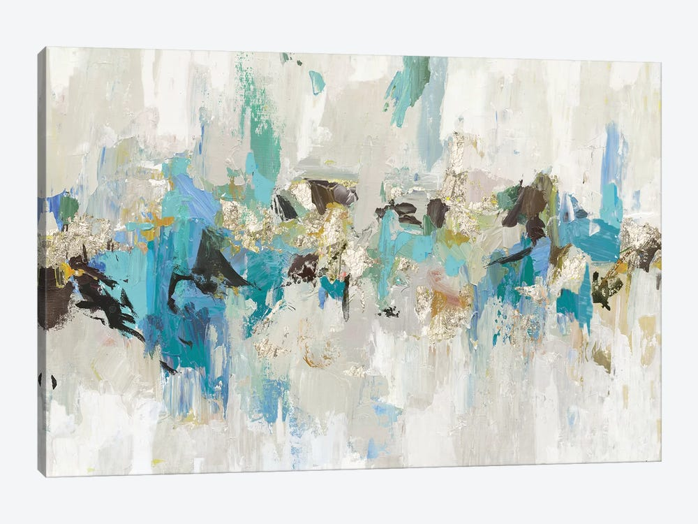 Blue Silver III by Tom Reeves 1-piece Canvas Print