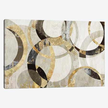 Overlaps Canvas Print #TOR132} by Tom Reeves Art Print