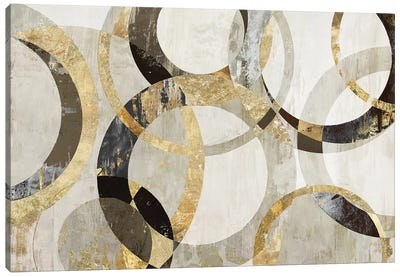 Overlaps Canvas Art Print