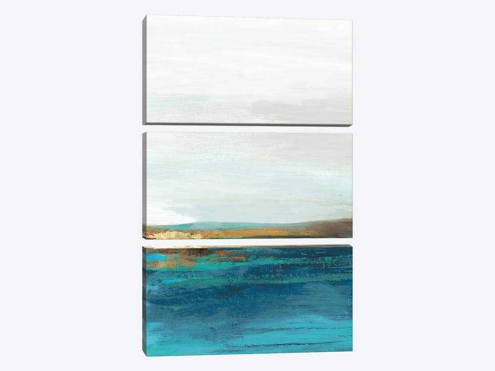 Pastoral Landscape II by Tom Reeves 3-piece Canvas Art Print
