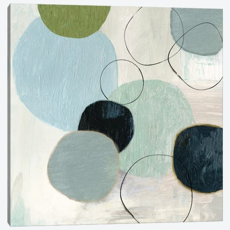 Soft Circle II Canvas Print #TOR139} by Tom Reeves Art Print