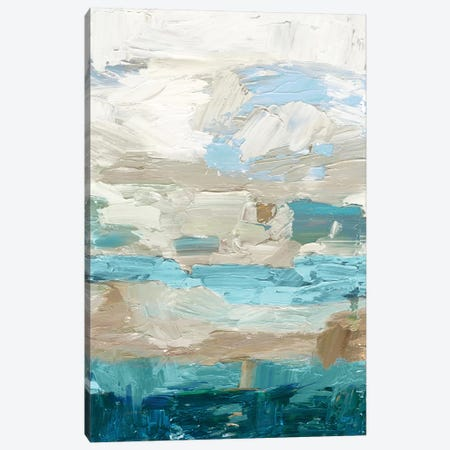 Soft Shore Canvas Print #TOR140} by Tom Reeves Canvas Artwork