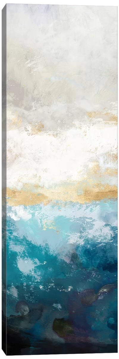Water Gold I Canvas Art Print