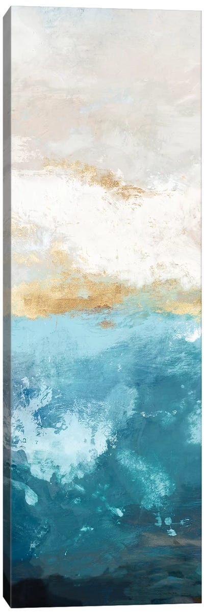 Water Gold II Canvas Art Print