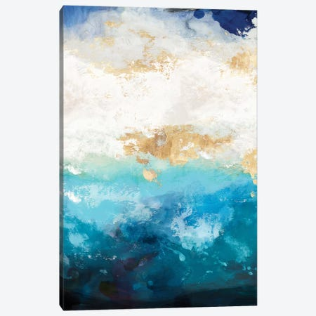 Water I Canvas Print #TOR147} by Tom Reeves Canvas Art Print