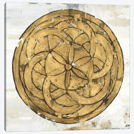 Gold Plate II Canvas Print #TOR151} by Tom Reeves Canvas Print