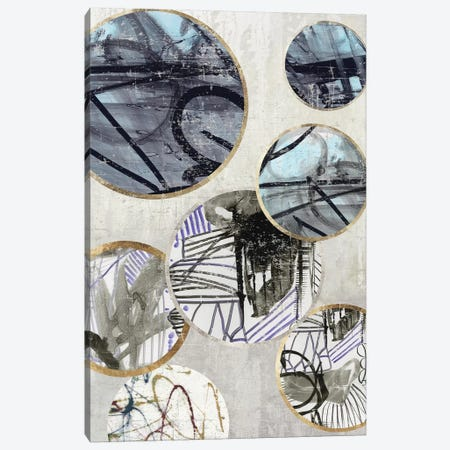 Metal Rings I Canvas Print #TOR155} by Tom Reeves Canvas Wall Art