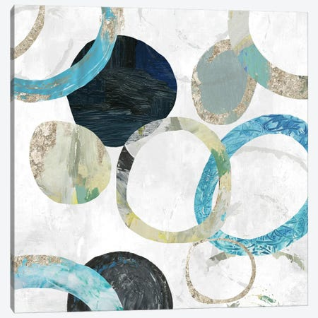 Rings I Canvas Print #TOR161} by Tom Reeves Canvas Wall Art