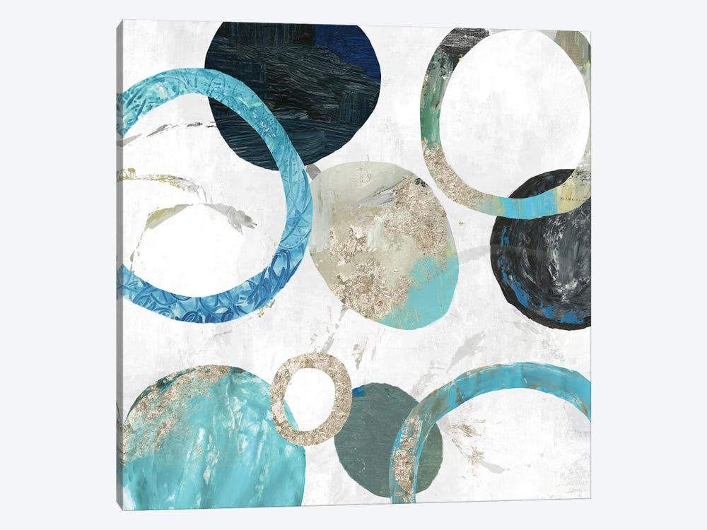 Rings II by Tom Reeves 1-piece Canvas Art