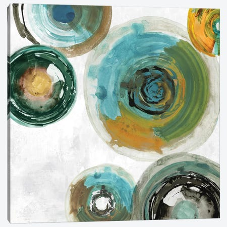 Spirals I Canvas Print #TOR163} by Tom Reeves Canvas Wall Art