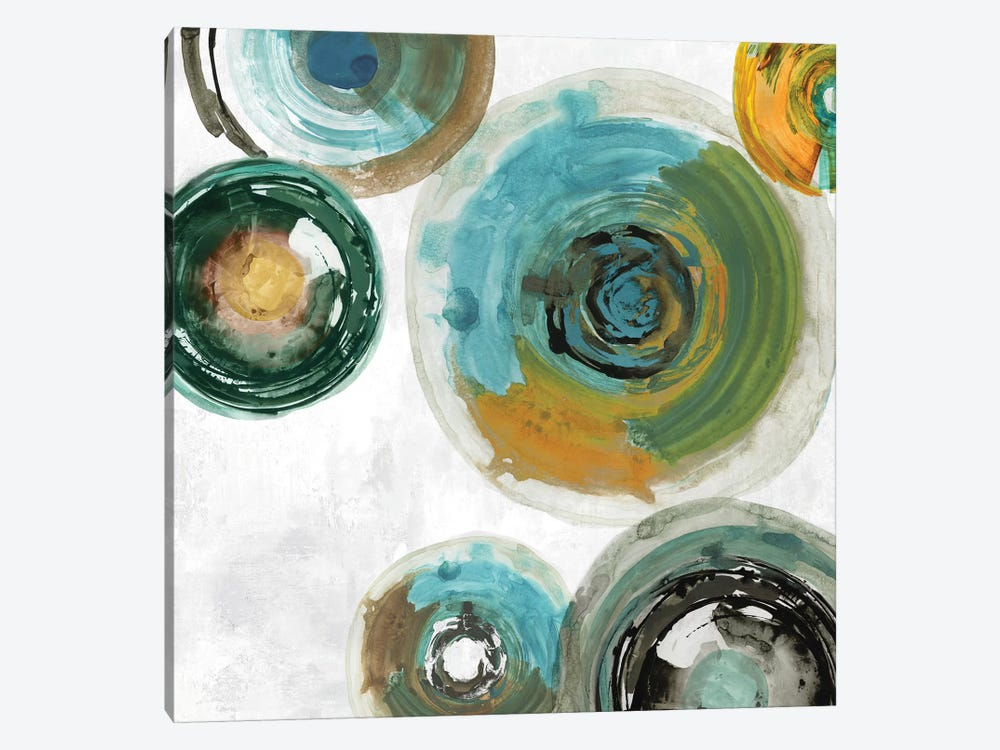 Spirals I by Tom Reeves 1-piece Canvas Art Print