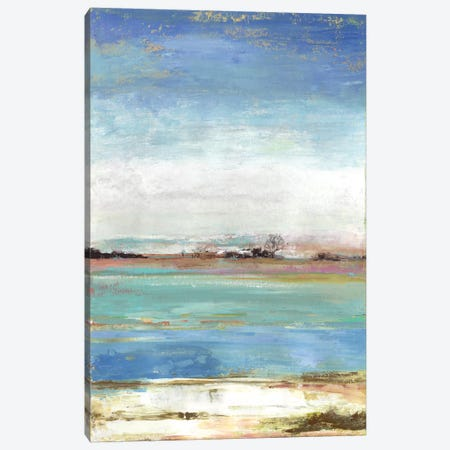 Waterfront I Canvas Print #TOR168} by Tom Reeves Canvas Artwork