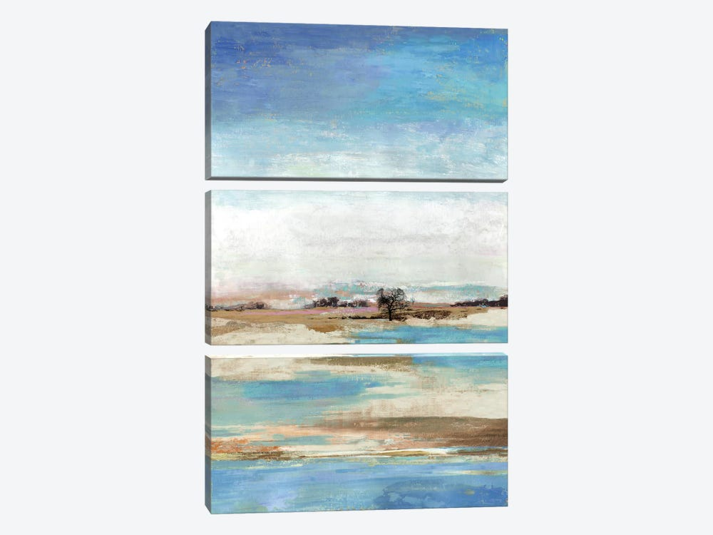 Waterfront II by Tom Reeves 3-piece Canvas Print