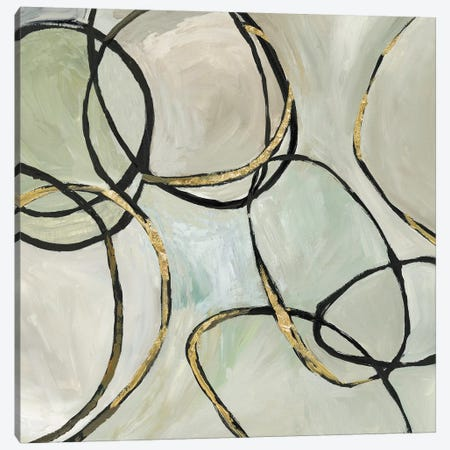Infinity Rings I Canvas Print #TOR175} by Tom Reeves Canvas Artwork