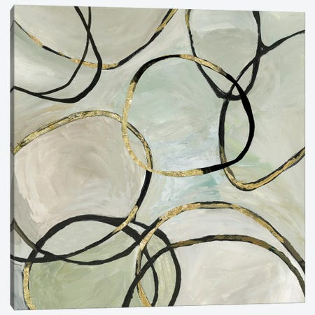 Infinity Rings II Canvas Print #TOR176} by Tom Reeves Canvas Artwork