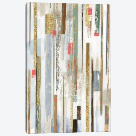 Linear Lines Canvas Print #TOR177} by Tom Reeves Canvas Wall Art