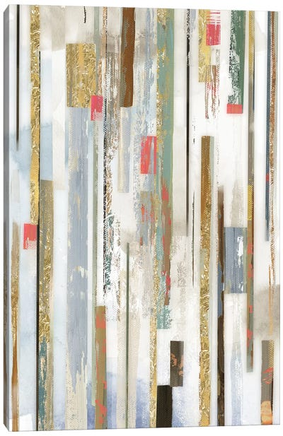 Linear Lines Canvas Art Print
