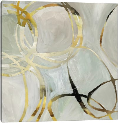 Linked I Canvas Art Print