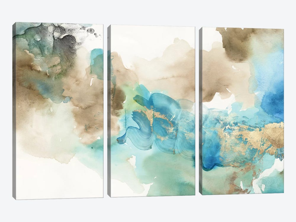 Space Abstract by Tom Reeves 3-piece Canvas Wall Art
