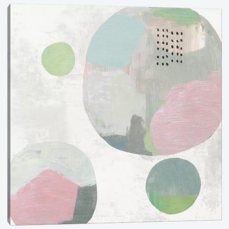 Wool Circles II Canvas Print #TOR184} by Tom Reeves Canvas Art Print