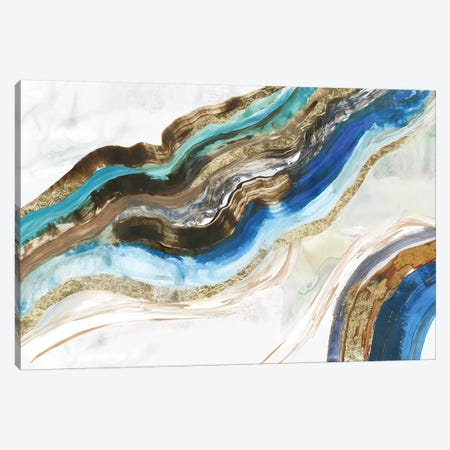 Crystalised III  Canvas Print #TOR188} by Tom Reeves Canvas Wall Art
