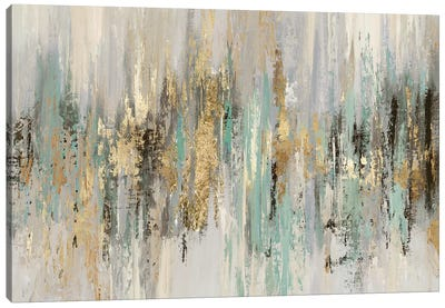 Dripping Gold I Canvas Art Print