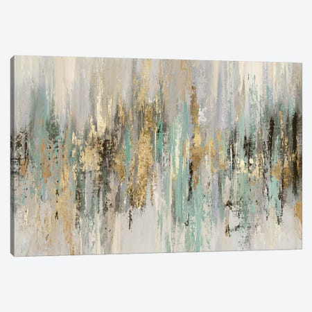Dripping Gold I Canvas Print #TOR189} by Tom Reeves Canvas Artwork