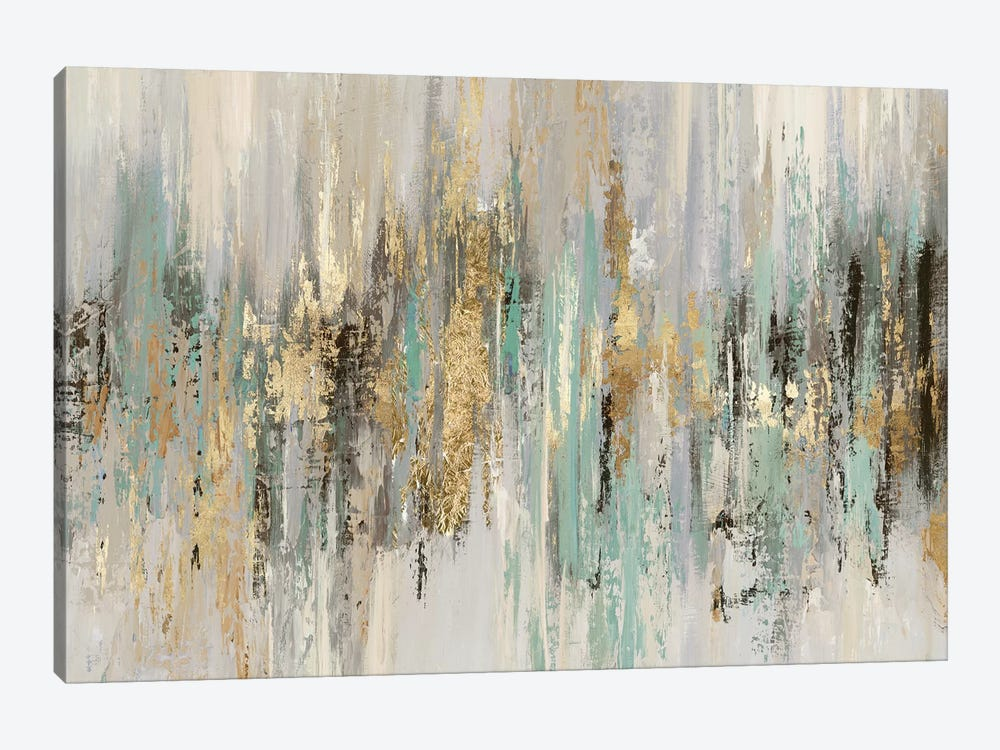 Dripping Gold I by Tom Reeves 1-piece Canvas Print