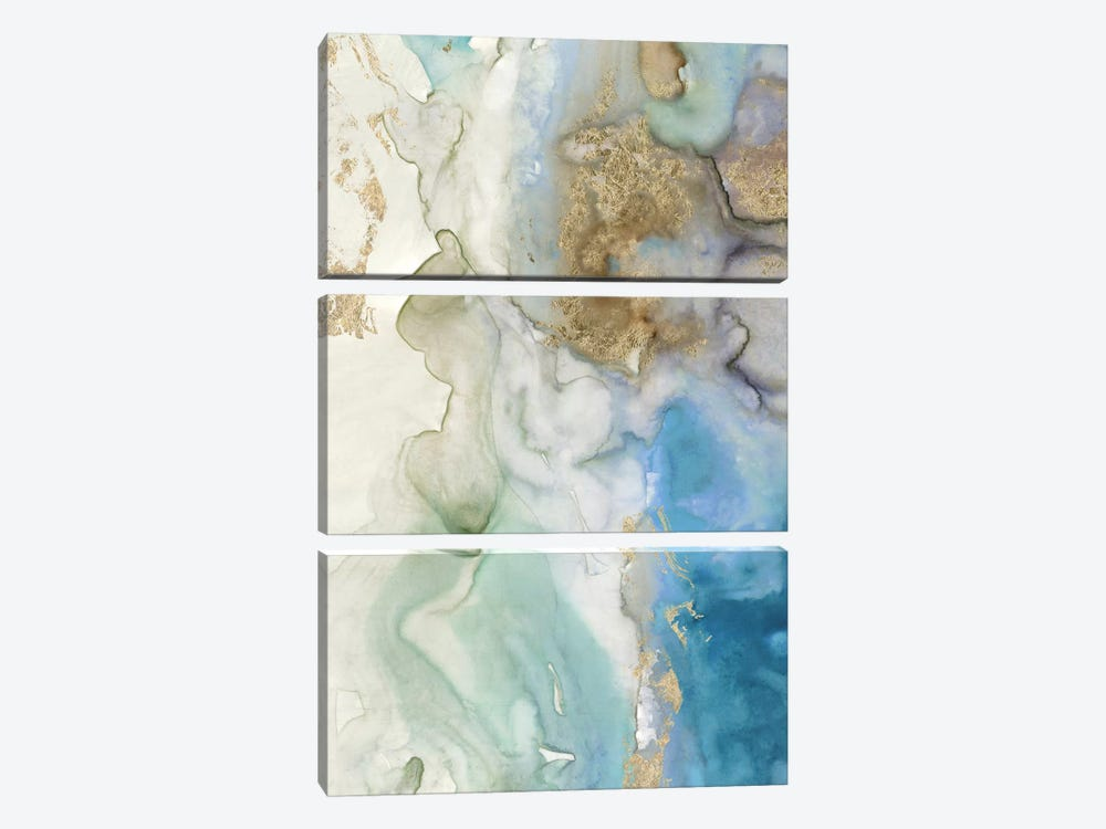 Emerald Pool I  by Tom Reeves 3-piece Art Print