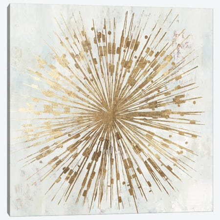 Golden Star Canvas Print #TOR194} by Tom Reeves Canvas Artwork
