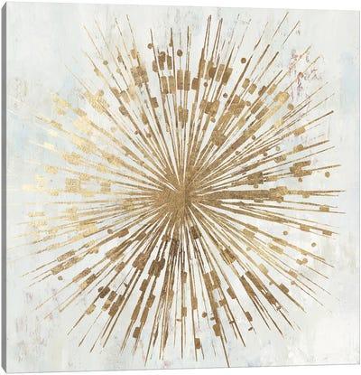 Golden Star Canvas Art Print