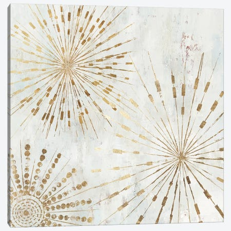 Golden Stars I  Canvas Print #TOR195} by Tom Reeves Canvas Artwork