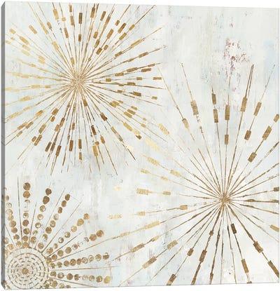 Golden Stars I  Canvas Art Print