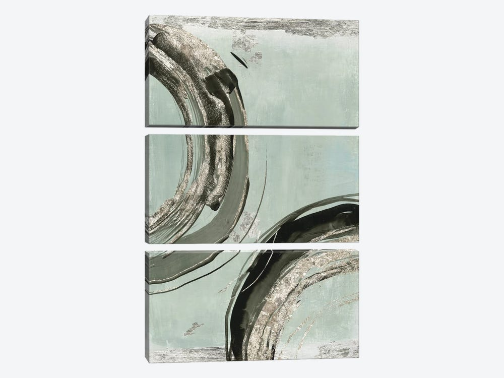Consistent I  by Tom Reeves 3-piece Canvas Print