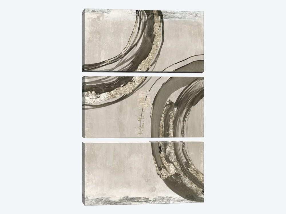 Consistent II  by Tom Reeves 3-piece Canvas Art