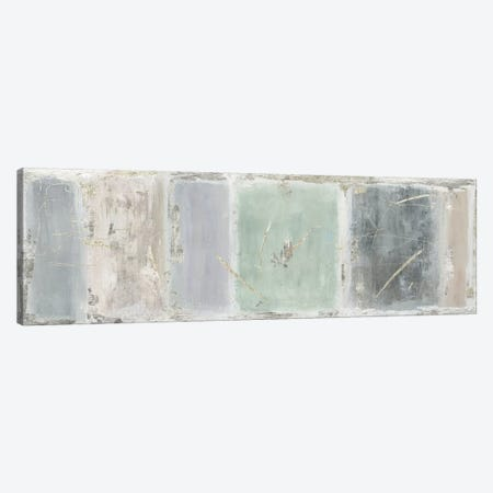 Silver Tiles  Canvas Print #TOR218} by Tom Reeves Canvas Art