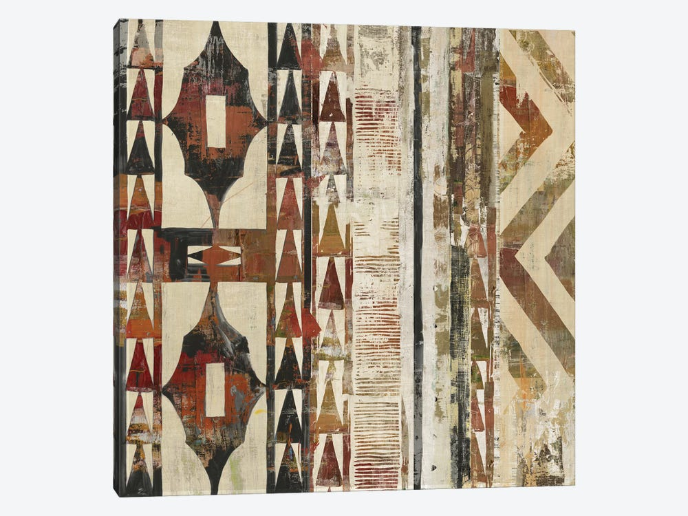 African Patterning I  by Tom Reeves 1-piece Canvas Art