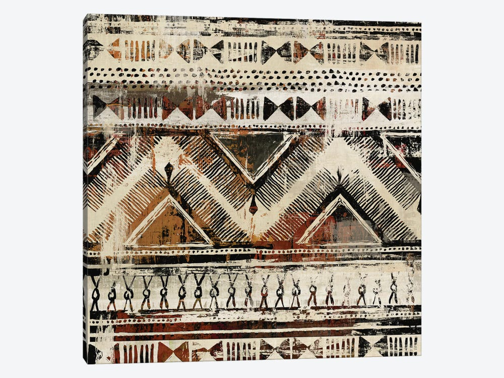 African Patterning II  by Tom Reeves 1-piece Canvas Wall Art