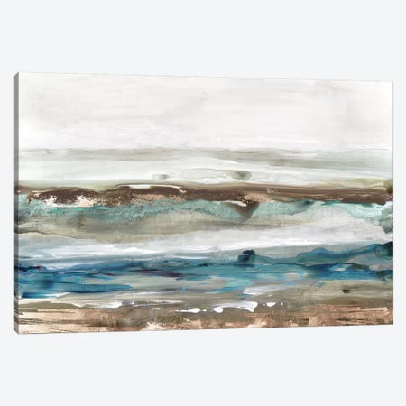 Waves Crashes  Canvas Print #TOR225} by Tom Reeves Canvas Art
